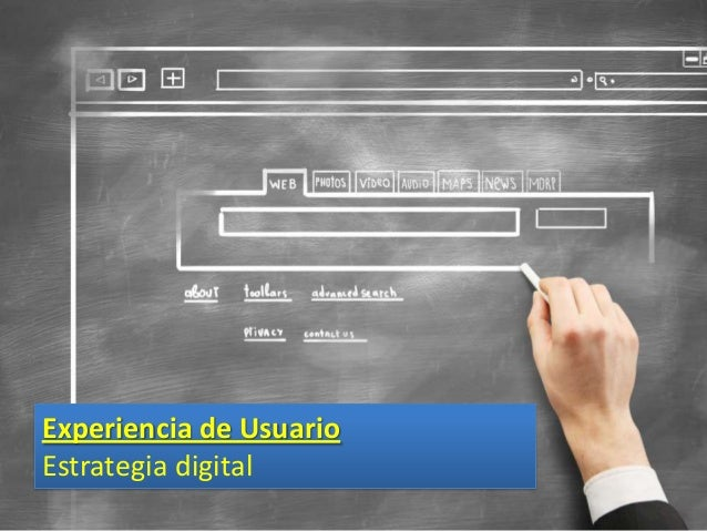 Experiencia de Usuario Estrategia digital