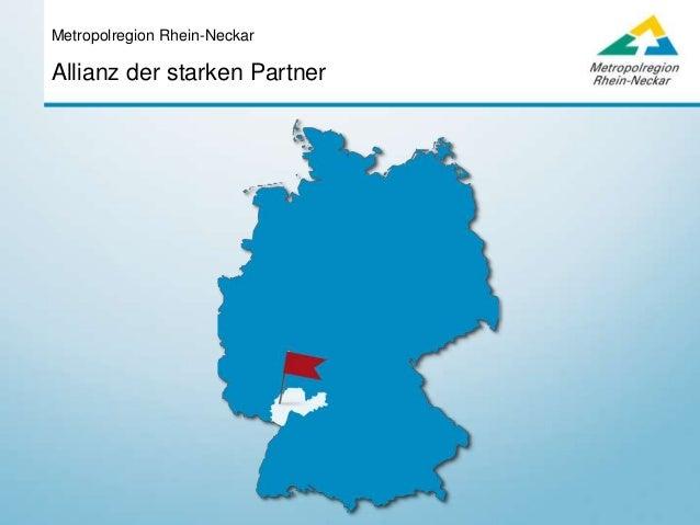 Allianz der starken Partner Metropolregion Rhein-Neckar