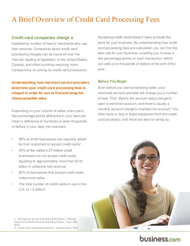 Business.com\'s Ultimate Guide to Understanding Your Credit Card Proce…