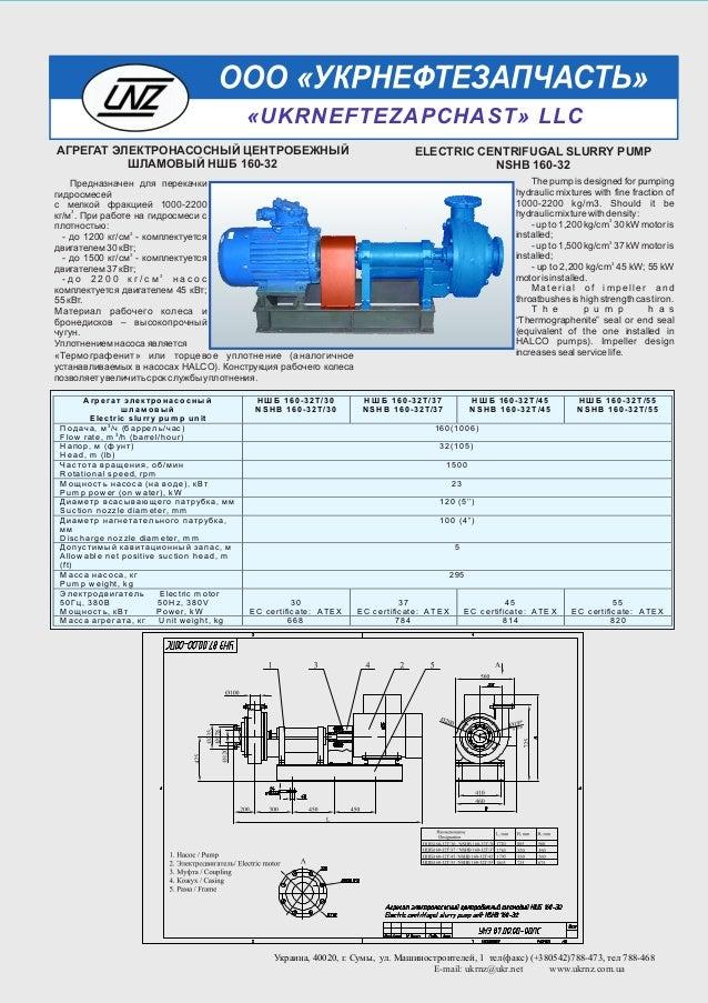 Предназначен для перекачки гидросмесей с мелкой фракцией 3 1000-2200 кг/м . При работе на гидросмеси с плотностью: 3 - д о...