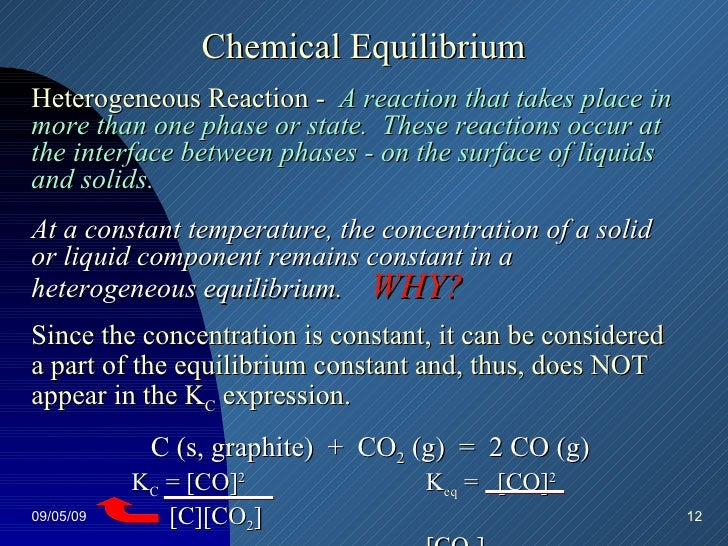 chemistry 12 equilibrium review3 L farrell – chemistry 12 – chemical equilibrium – theory review – answers – page 2 5 the following equation represents part of the industrial production of nitric acid.