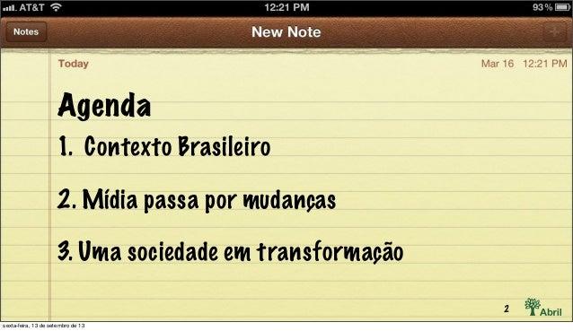 O Brasil tem boas notícias para o futuro das revistas Slide 2