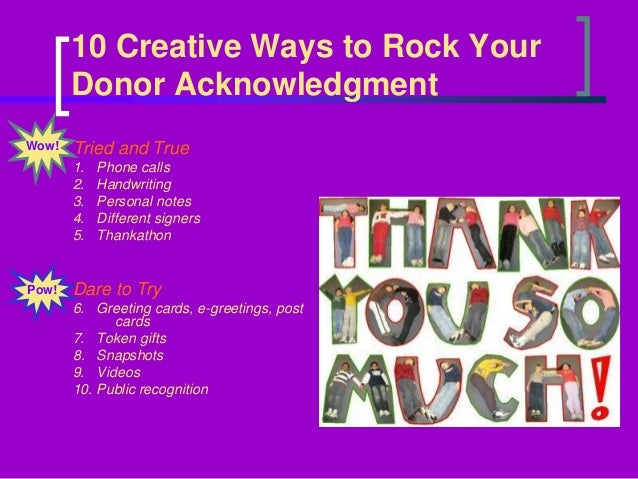 improving donor retention how creative thank you s and cultivating a
