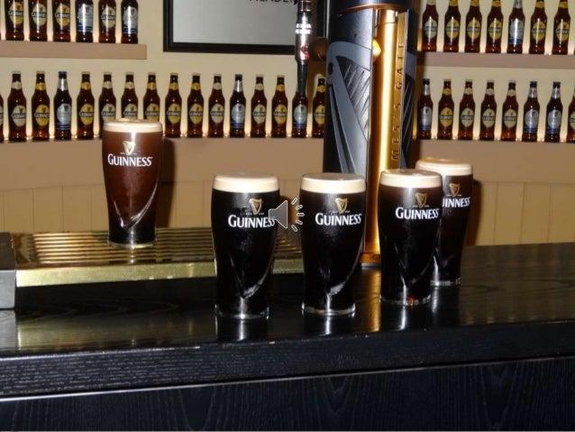 Guinness es una cerveza negra seca del tipo stout elaborada por primera vez por el cervecero Arthur Guinness en la empresa...