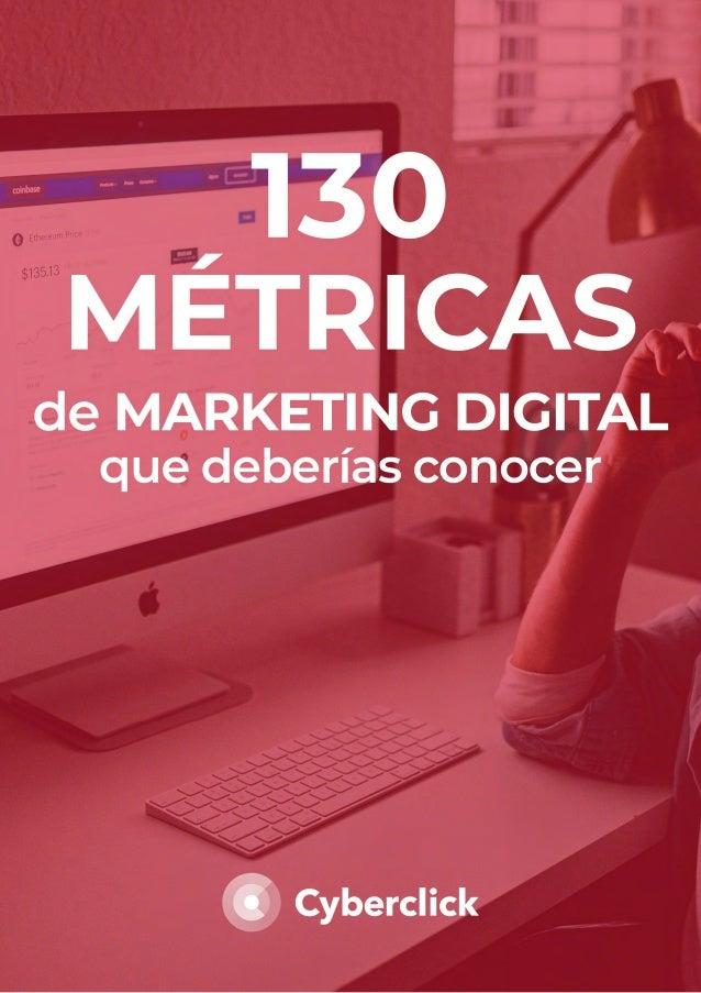 David Tomás Ceo & Cofundador de Cyberclick Laia Cardona Communication & Marketing Strategist en Cyberclick LAS 130 MÉTRICA...