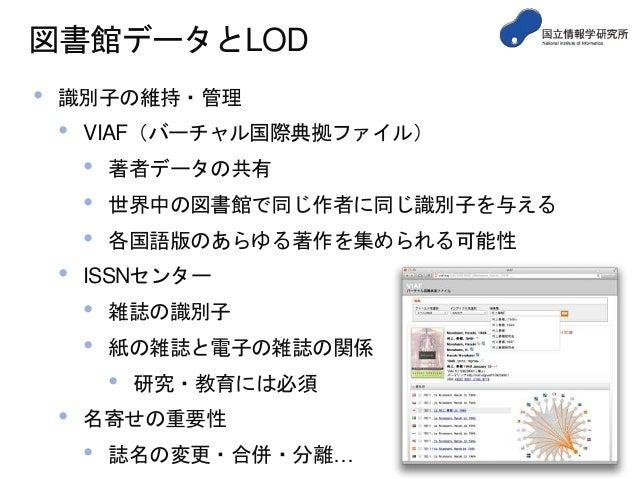 図書館データとLinked Open Data...