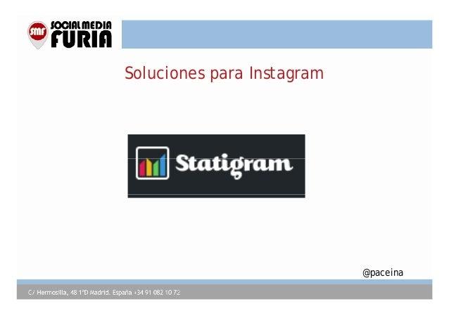 Soluciones para Instagram  @paceina