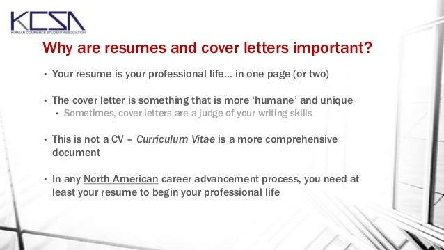 Resume And Cover Letter Workshop October 2013