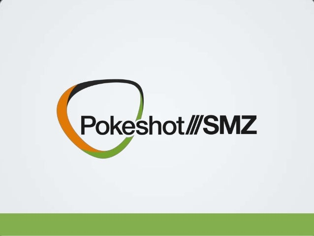 POKESHOT /// SMZ Jive Software – Fall Release  11. November 2013  Pokeshot///SMZ | Patrick Fähling  2