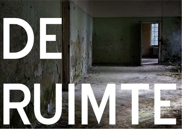 DE! RUIMTE
