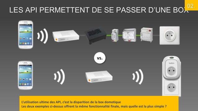 02.  LES API PERMETTENT DE SE PASSER D'UNE BOX  vs.  L'utilisation ultime des API, c'est la disparition de la box domotiqu...