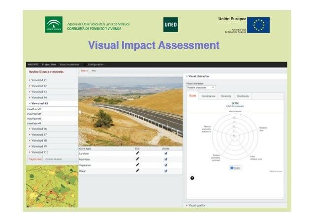 Visual Impact Assessment  17th IRF World Meeting & Exhibition Riyadh, November 10 - 14, 2013