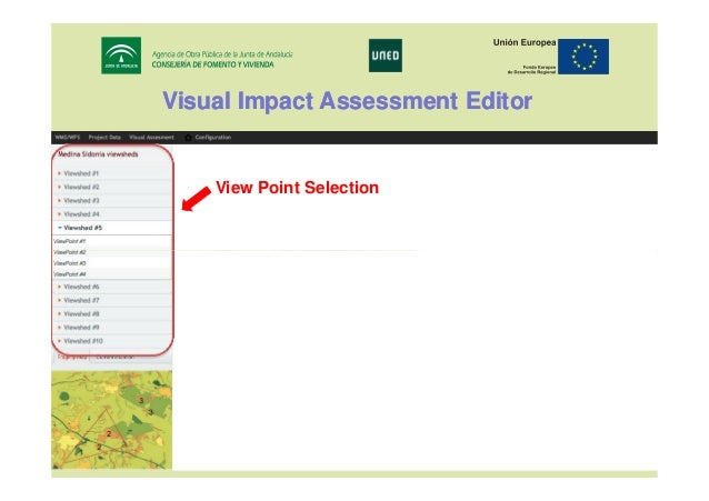 Visual Impact Assessment Editor  View Point Selection  17th IRF World Meeting & Exhibition Riyadh, November 10 - 14, 2013