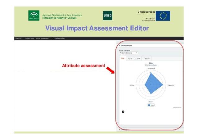 Visual Impact Assessment Editor  Attribute assessment  17th IRF World Meeting & Exhibition Riyadh, November 10 - 14, 2013