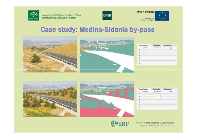 Case study: Medina-Sidonia by-pass MedinabyVisual Quality Vividness  Visual Quality Vividness  Elements Intactness  Elemen...