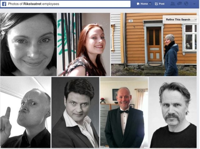 Facebook og søk for BRAK
