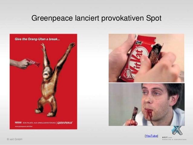 Greenpeace lanciert provokativen Spot  [YouTube] © xeit GmbH