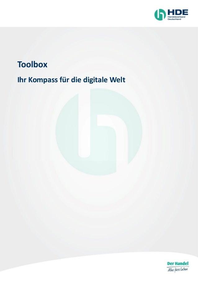 Toolbox Ihr Kompass für die digitale Welt