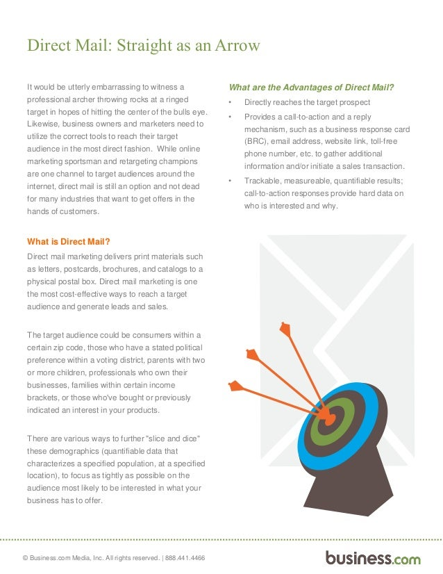 how to start a direct mail business