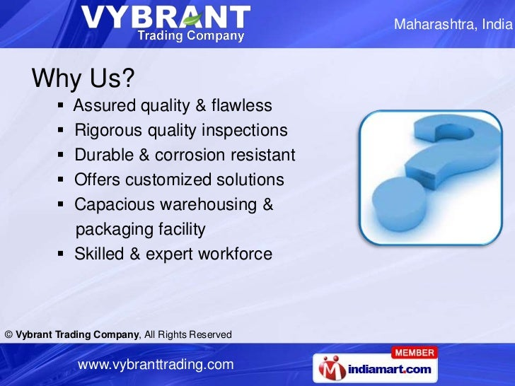 MS Structural Steels by Vybrant Trading Company Mumbai Slide 3