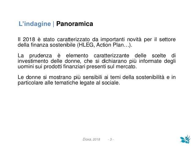 Donne e finanza soetnibile Slide 3