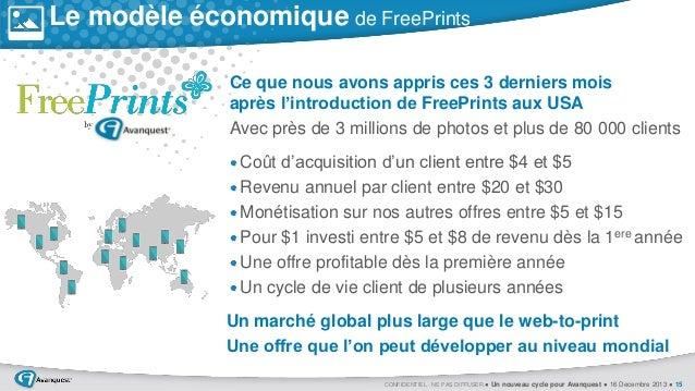 Le modèle économique de FreePrints  0  Ce que nous avons appris ces 3 derniers mois après l'introduction de FreePrints aux...