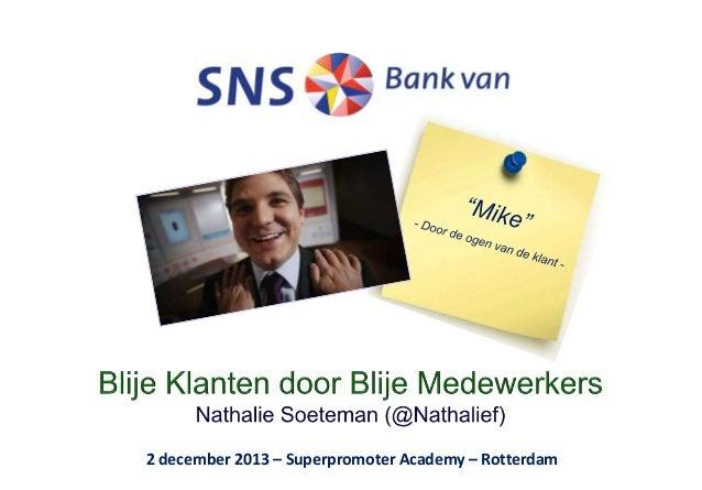 2 december 2013 – Superpromoter Academy – Rotterdam