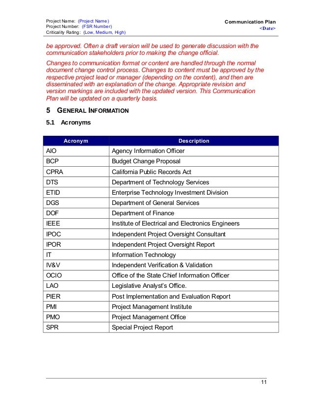 information technology plan template