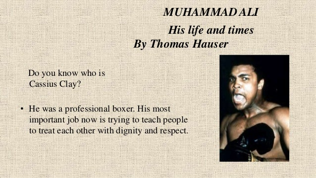 muhammad ali his life and times by thomas hauser pdf