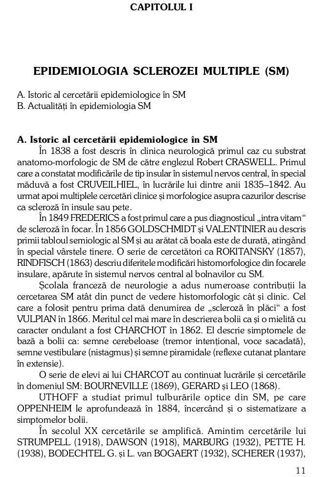 KABAT ºi H. WOLLF (1947), MARGULIS M., SOLOVIEV O. ºi SHUBLADZE A. (1946), PETERS G. (1957), KOLB (1957), LHERMITTE F. (19...