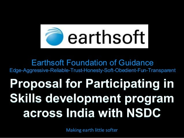 Earthsoft Foundation of Guidance Edge-Aggressive-Reliable-Trust-Honesty-Soft-Obedient-Fun-Transparent Making earth little ...