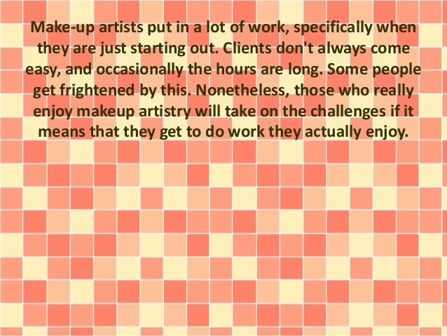 Do You Have What Is Required To Become A Successful Makeup Artist?