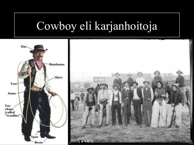 Cowboy eli karjanhoitoja