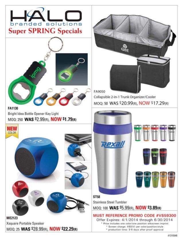 HALO Branded Solutions Super Summer Specials