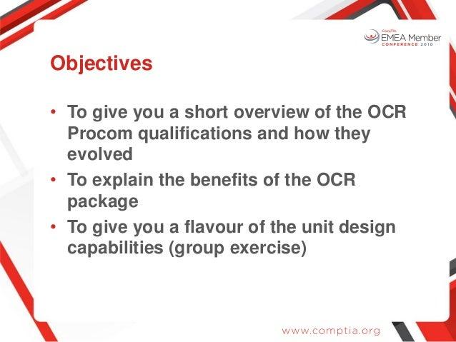 EMEA10: Procom - the OCR package