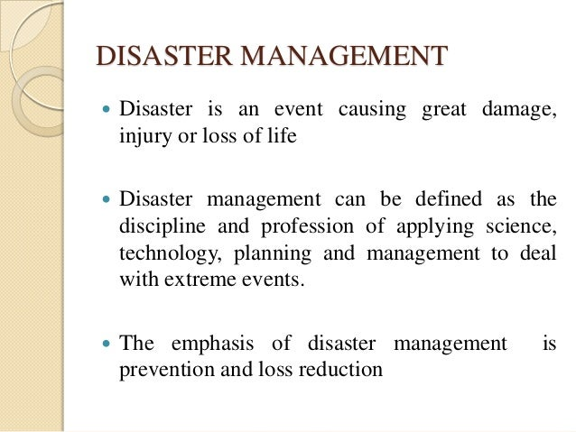 relief availability and distribution on disaster management Large-scale emergency response often relies heavily on the channelling of  emergency  the distribution of cash presents security risks for both the  distributing.