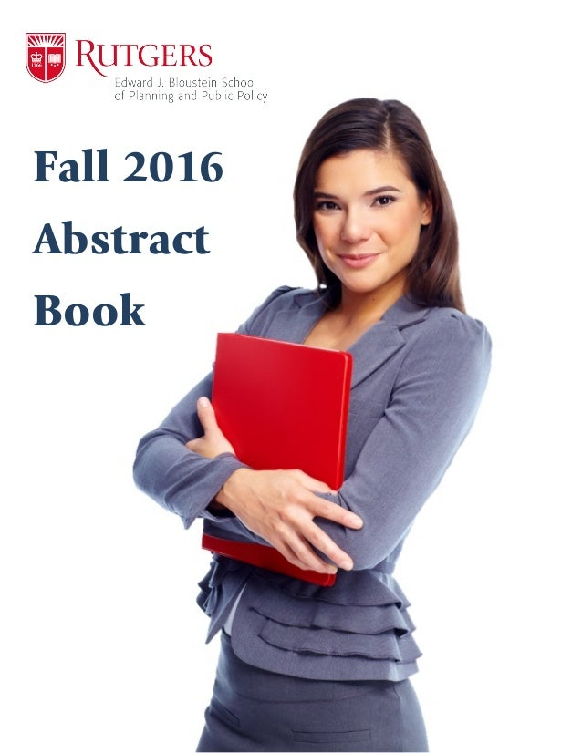 Fall 2016 Abstract Book