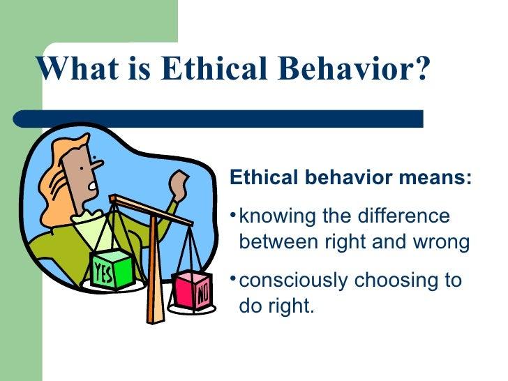 13.1 Ethical Behavior