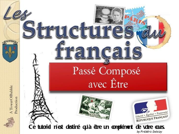 Ce tutoriel n'est destiné qu'à être un complément de votre cours.  A TowerOfBabble Production by Frédéric Deloizy Passé Co...