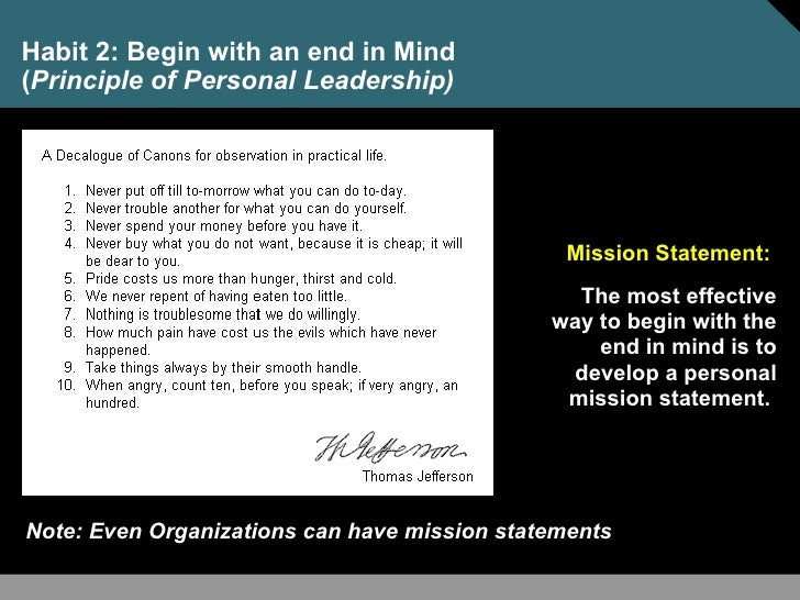 How a Personal Mission Statement Can Help You Change