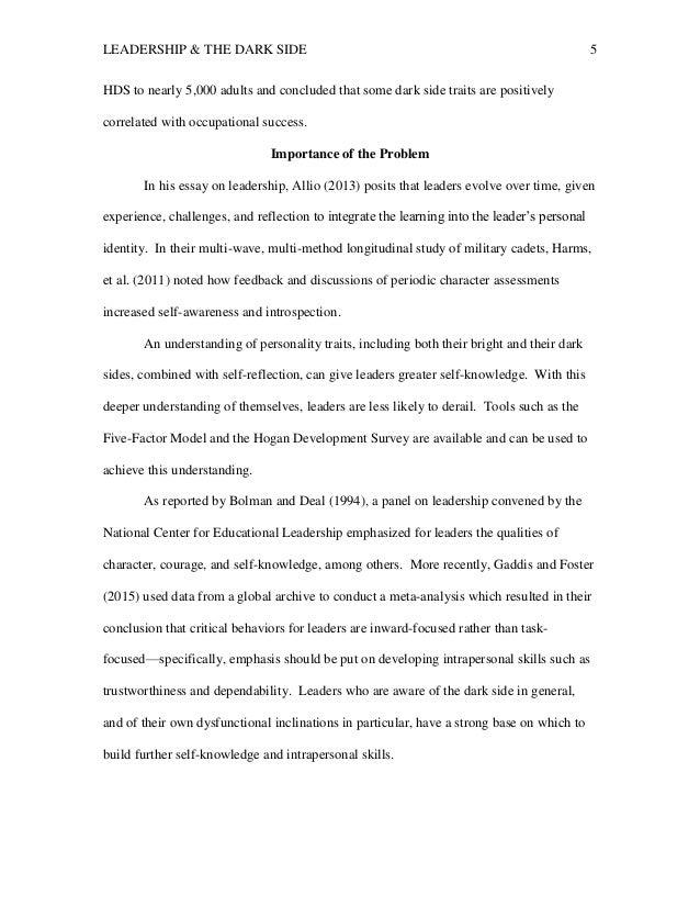 educ final paper w feedback tesar leadership