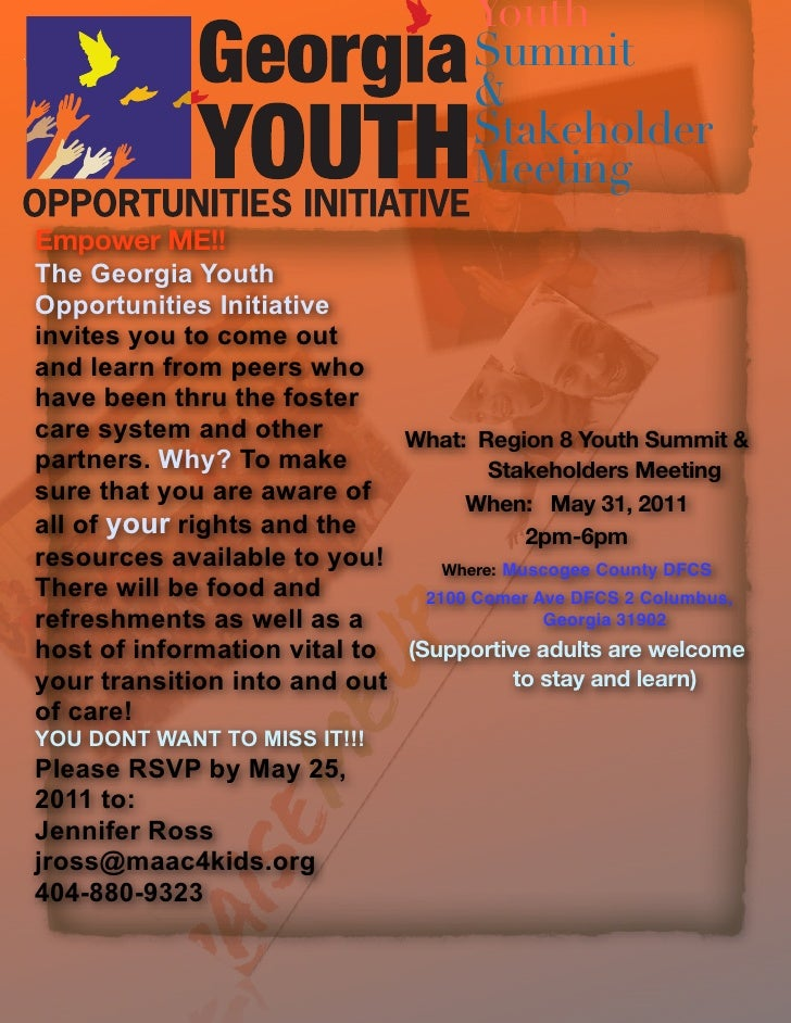 Youth                                      Summit                                      &                                  ...
