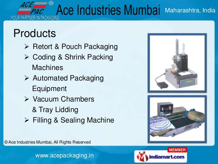 Ace Industries Maharashtra India