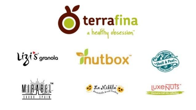 Work Portfolio Terrafina Foods