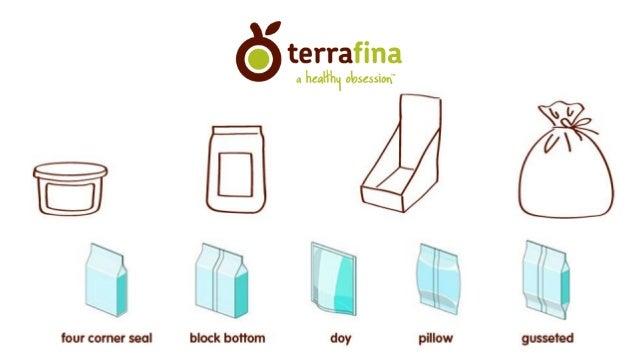 Work Portfolio Terrafina Foods Slide 3