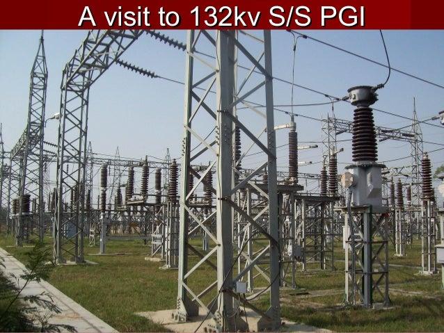 A visit to 132kv S/S PGIA visit to 132kv S/S PGI