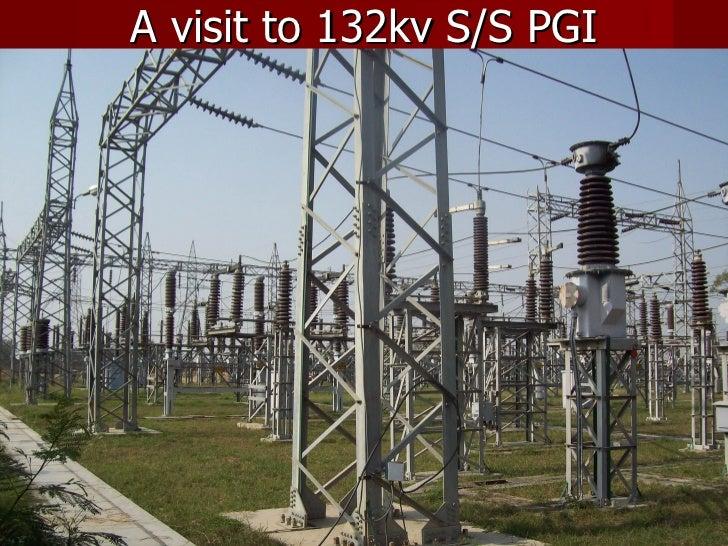 A visit to 132kv S/S PGI