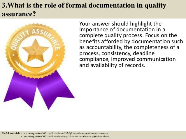 8 3 - Qa Interview Questions And Answers Quality Assurance Interview