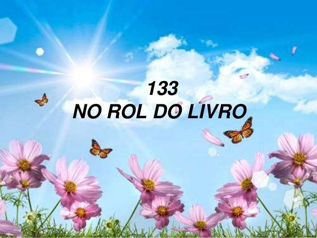 133 NO ROL DO LIVRO