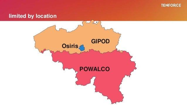 limited by location GIPOD POWALCO Osiris